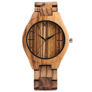 watch Orzilli Natural Bamboo Wooden Watch - Bamboo DiariesDefault Title