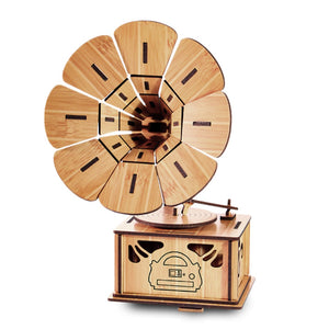 Toy Bamboo 3D Puzzles - Phonograph - Bamboo Diaries