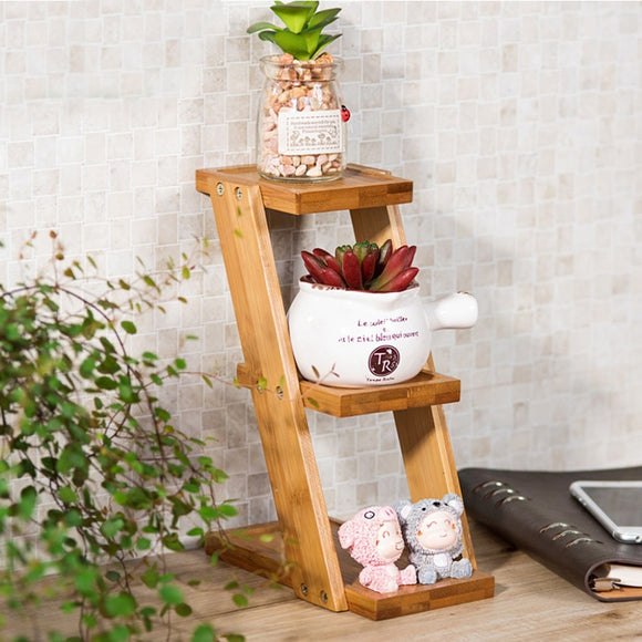 Homeware 3-Tier Bamboo Plant Holder/Stand - Bamboo Diaries