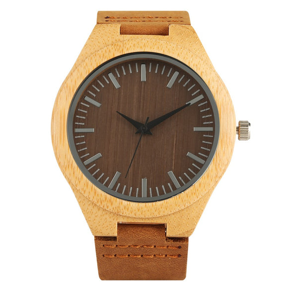 watch Danzig Bamboo Wooden Watch - Bamboo DiariesDefault Title
