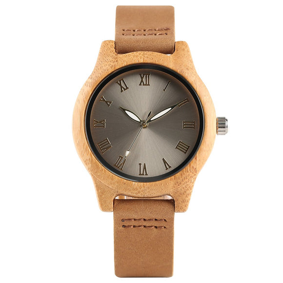 watch Marner Unisex Bamboo Wooden Watch - Bamboo DiariesDefault Title