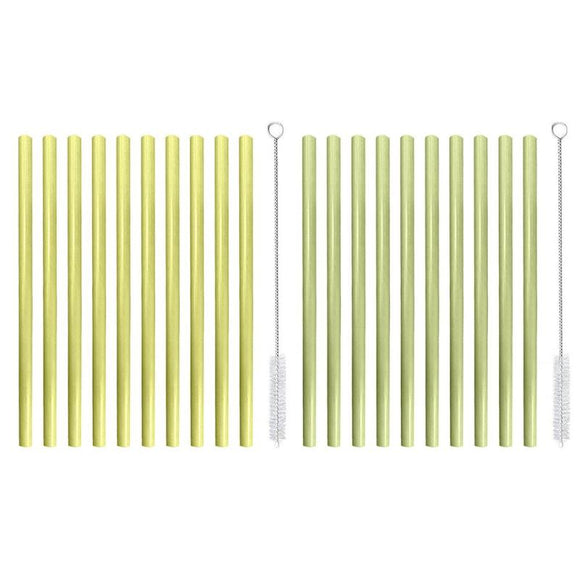 Drinkware Organic Bamboo Drinking Straws (5 or 10Pcs/lot) - Bulk buy available - Bamboo Diaries