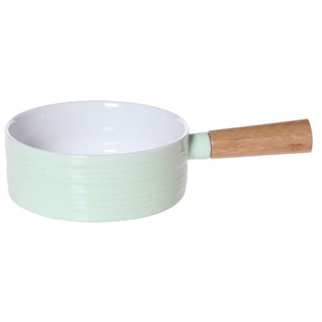 Food Bowl With Bamboo Handle-Bamboo Diaries