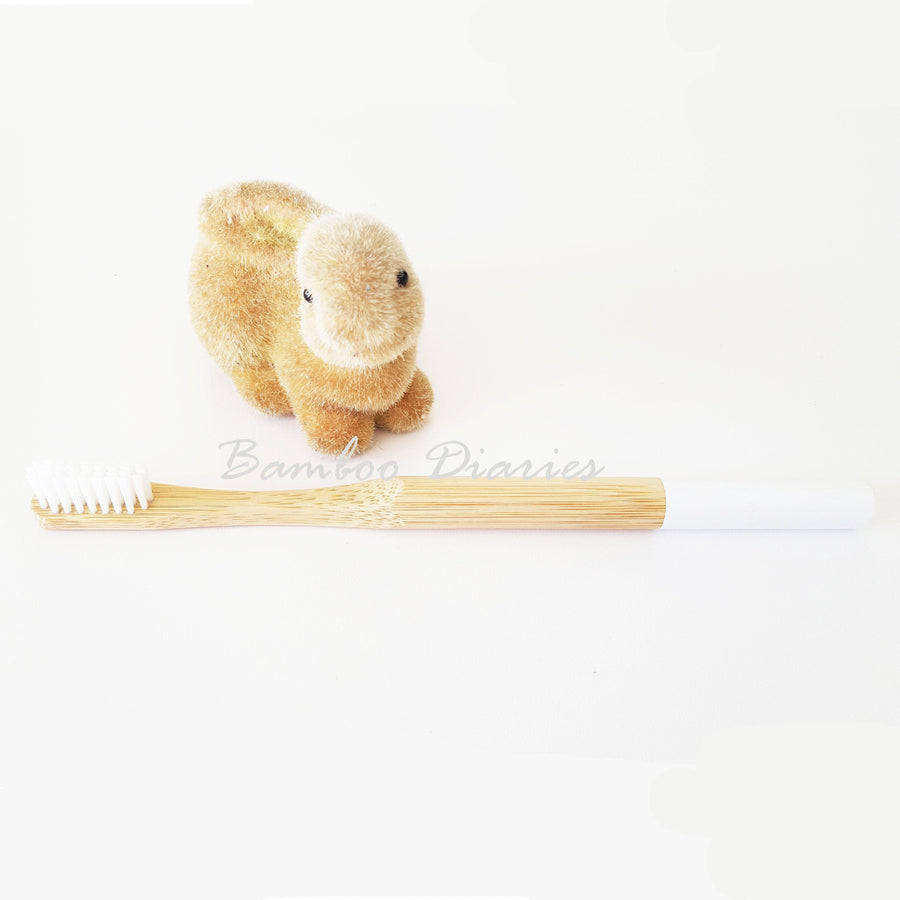12pcs/lot Eco-Friendly Bamboo Toothbrushes (Multicolor)-Bamboo Diaries