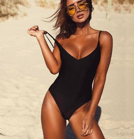 One Piece Fused Swimwear