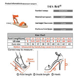 Women Lace up Espadrille Flats Side Cutout Ankle Strap Holiday Sandals