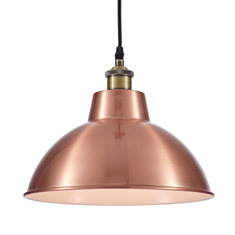 Ohr Lighting® Lammin Crown Pendant, Copper Plated (OH115)