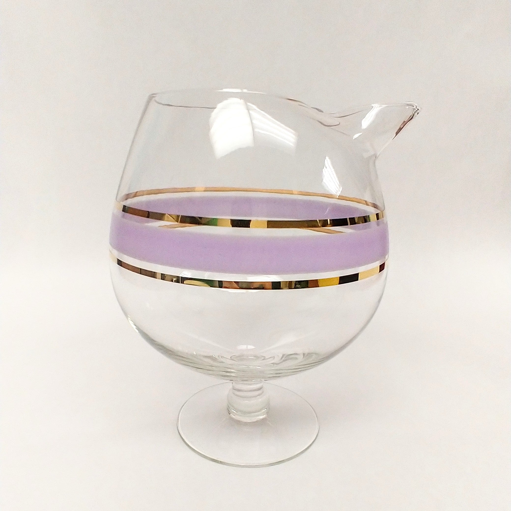 Lilac + Gold Cocktail Pitcher
