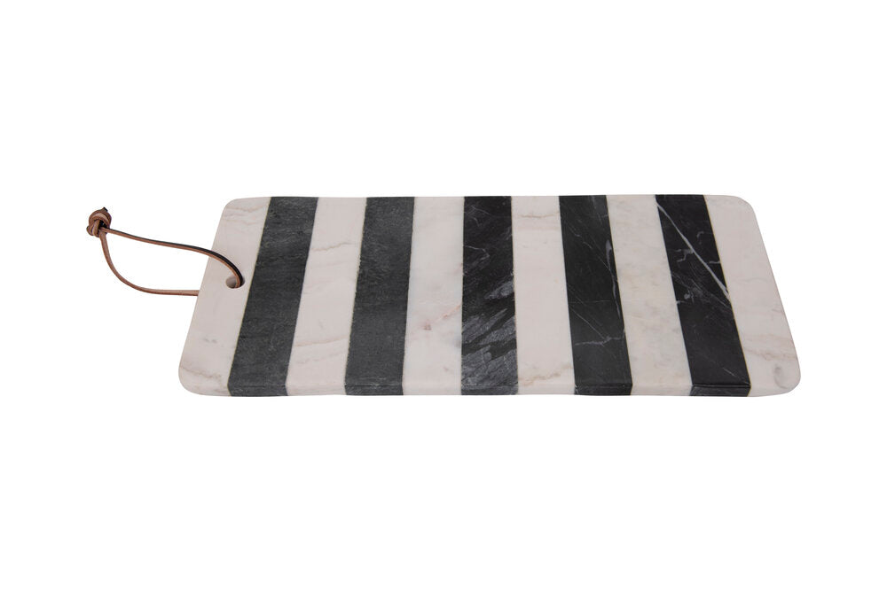 Black + White Marble Serving Board