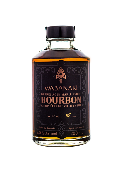 Kentucky Bourbon Barrel Aged Maple Syrup (Tobique First Nation)