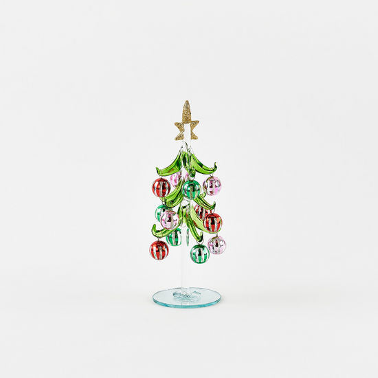 Glass + Mirror Dangle Tree