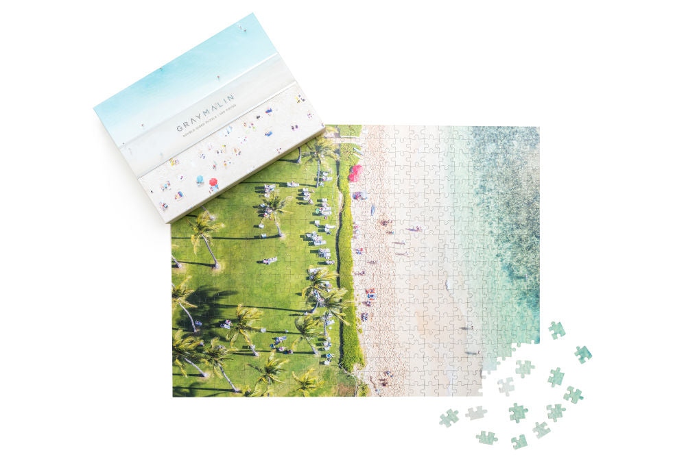 Gray Malin Two-Sided Hawaii Beach Puzzle