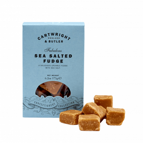 Sea Salted Caramel Fudge