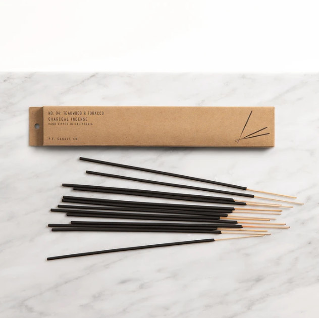 Teakwood + Tobacco Incense Sticks