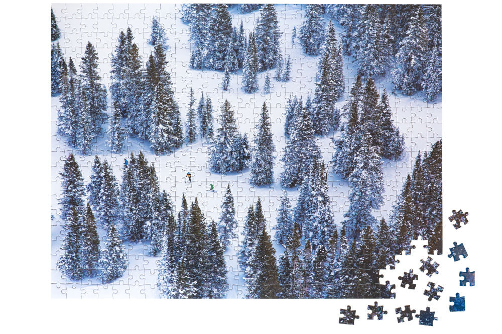 Gray Malin Two-Sided Snow Puzzle