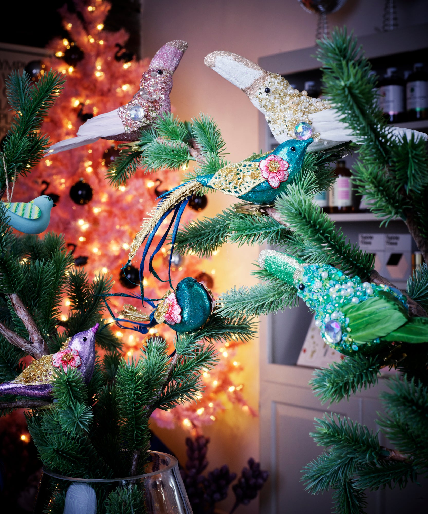 Toucan Clip on Ornament