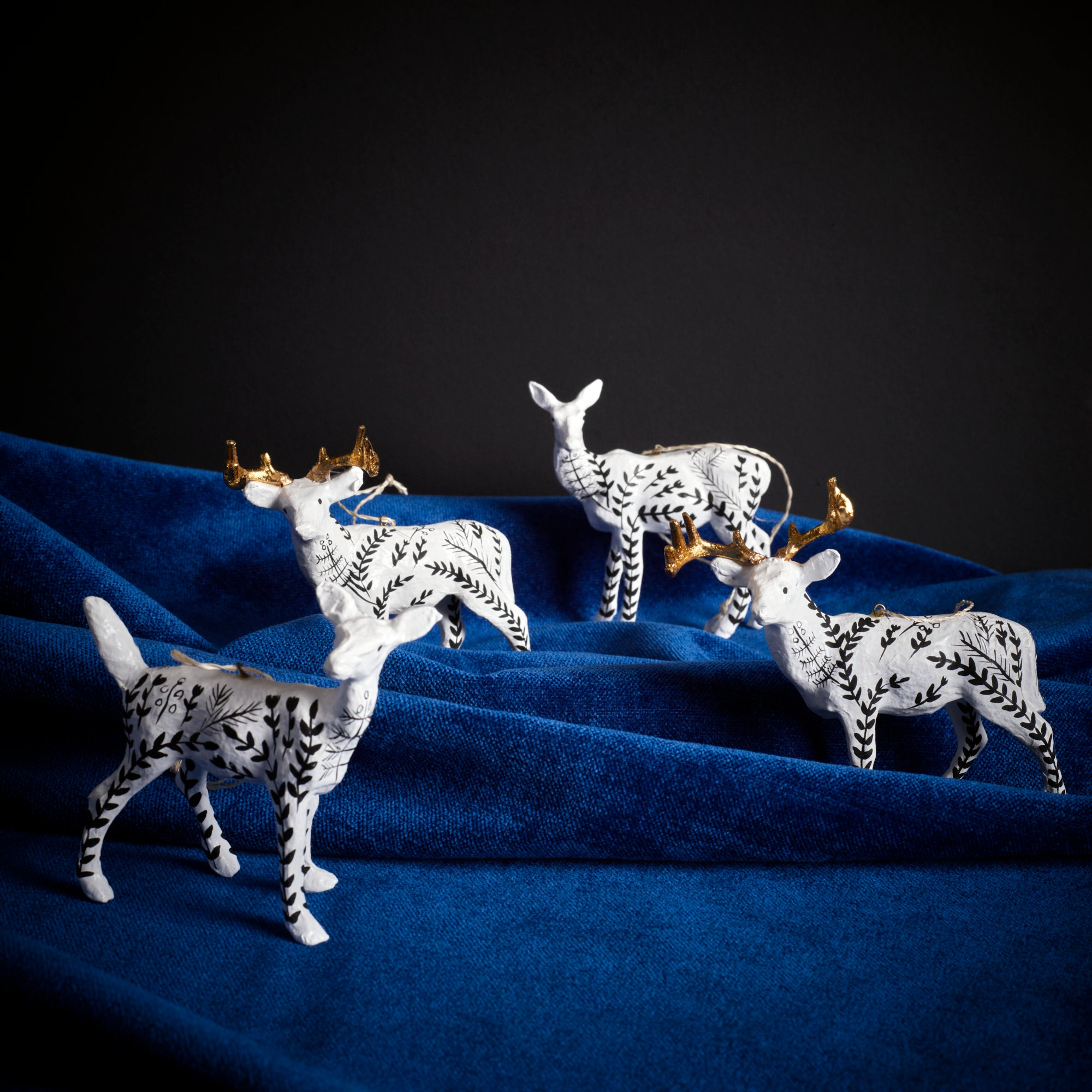 Moonlit Deer Ornament