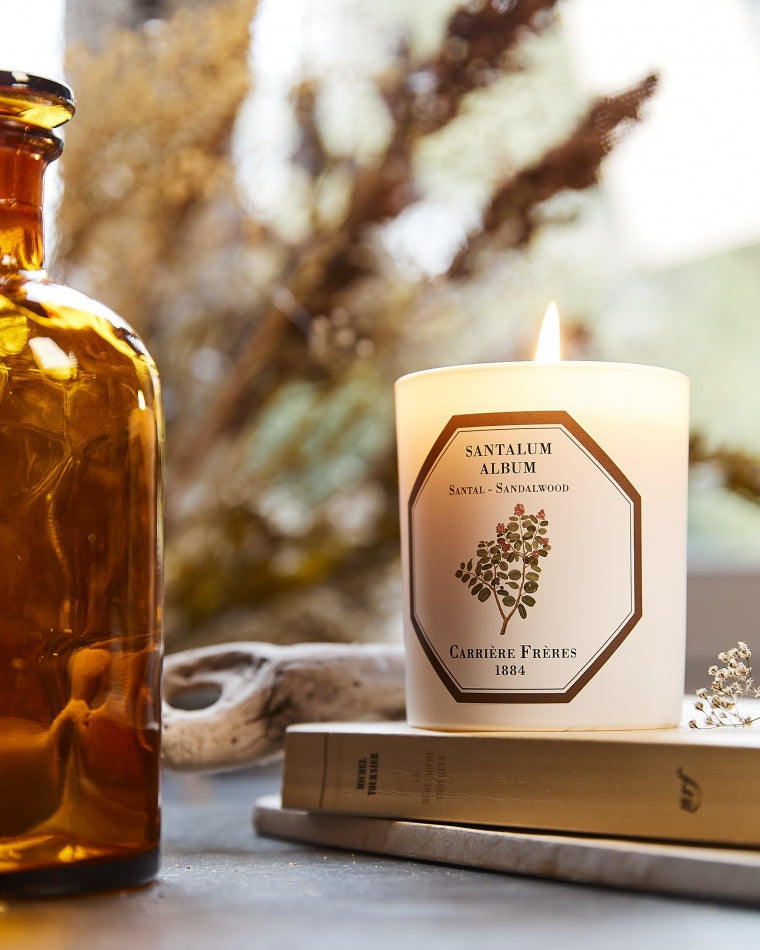 Sandalwood Candle by Carrière Frères