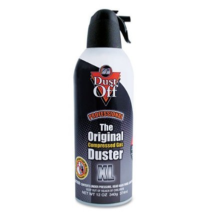 Dust-Off Compressed Gas Duster Single 12 oz. Can