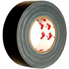 Scapa Pro-Grade Gaffers Tape - Black