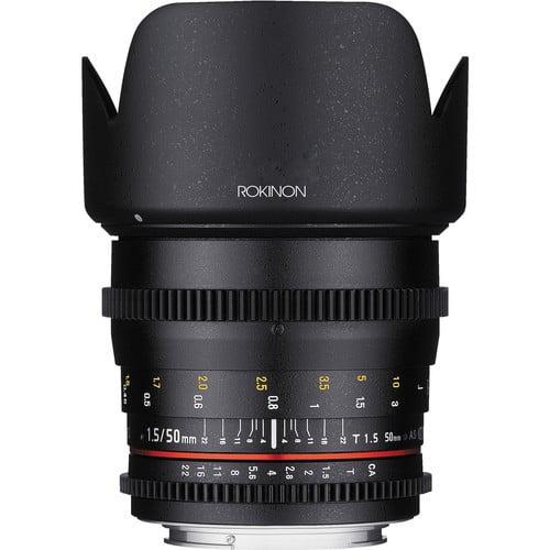 Samyang 50mm T1.5 AS UMC Cine DS Lens for Sony E - Mount