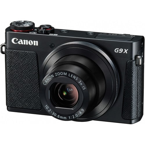 Canon PowerShot G9X Digital Camera (Black)