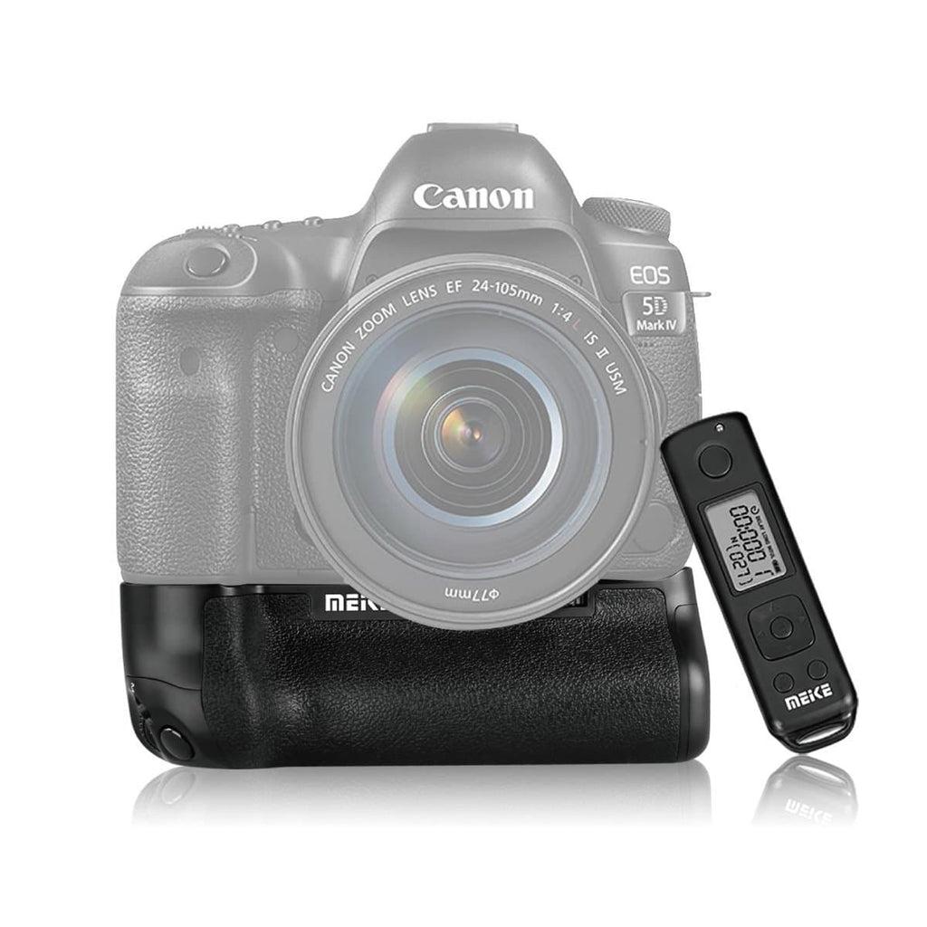 Meike Battery Grip with Wireless Remote for Canon 5D Mark IV