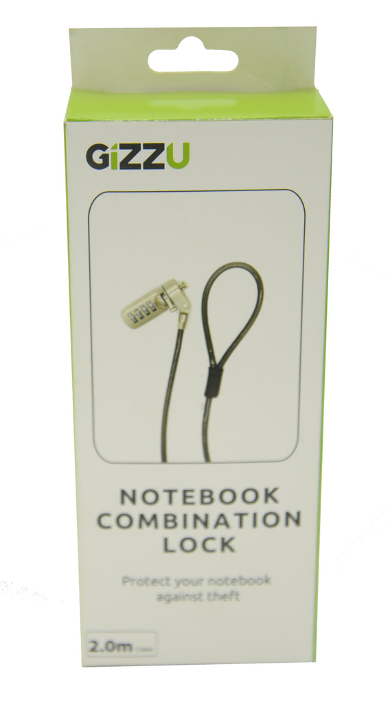 GIZZU Combination Lock 2m