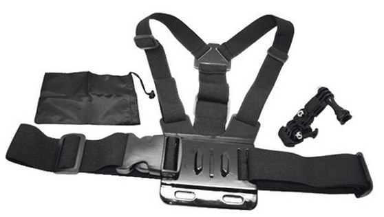 SJCAM Chest Harness for GoPro with 3-way Adjustment Base & Bag