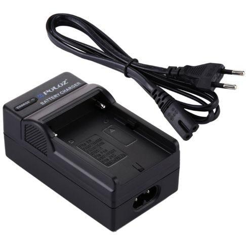 PULUZ Battery Charger with Cable for Sony NP-F550, F970, F960, F770, F750, F570 Battery