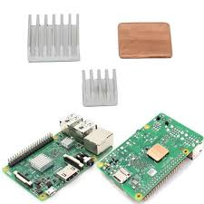 Raspberry Pi 2 Model B x 3 Piece Heat Sink Kit