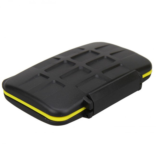 JJC MC-SD8 Rugged Water-Resistant Memory Card Case (8x SD/SDHC Cards)