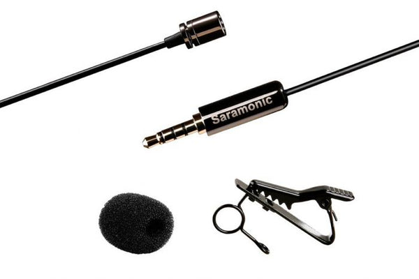 Saramonic SR-LMX1 - Lavalier Microphone for iPhone and Smartphones