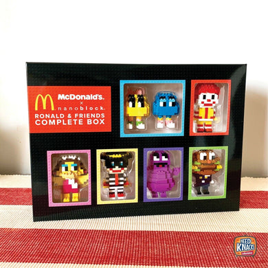 McDonald's x nanoblock Ronald & Friends Complete Box Set | set of 7 (SEALED)