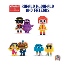 Load image into Gallery viewer, McDonald's x nanoblock Ronald & Friends Complete Box Set | set of 7 (SEALED)