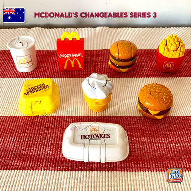 McDonald's Changeables Series 3 | McRobots | McDonald's Collectables | AU STOCK