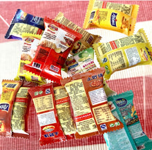 Load image into Gallery viewer, Mini Potato Chips Packets x11 - Miniature dollhouse 1:12