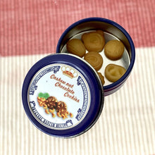 Load image into Gallery viewer, Mini Butter Cookies & Tin Set - 1:12 Miniature