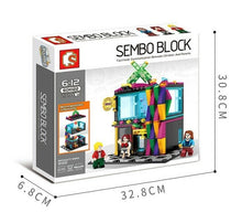 Load image into Gallery viewer, Sembo Block 601022 | KTV Music Bar with Three Figures | Creative Building Blocks
