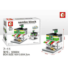 Load image into Gallery viewer, SEMBO Block SD6604 | 7-11 Convenience Store | Creative Building Blocks