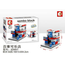 Load image into Gallery viewer, SEMBO Block SD6607 | Soda Shop | Creative Building Blocks