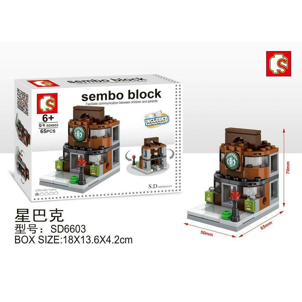 SEMBO Block SD6603 | Cafe | Creative Building Blocks