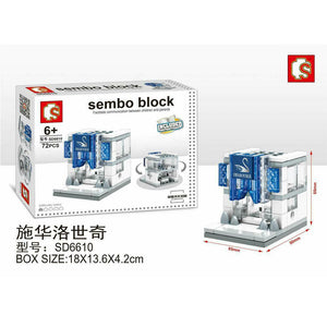 SEMBO Block SD6610 | Crystal Store | Creative Building Blocks
