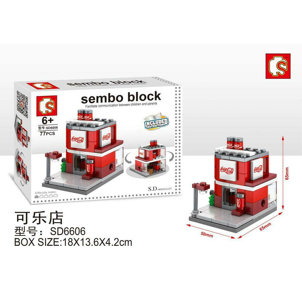 SEMBO Block SD6606 | Cola Shop | Creative Building Blocks