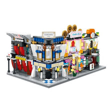 Load image into Gallery viewer, Sembo Block SD6541 | BANK | LIGHTS UP! | Mini Street Building Block w LED Light