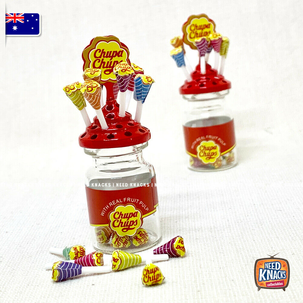 Mini Chupachups Lollies Set 1:12 Miniature