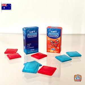 Miniature Condoms Packs - 1:12 Miniature