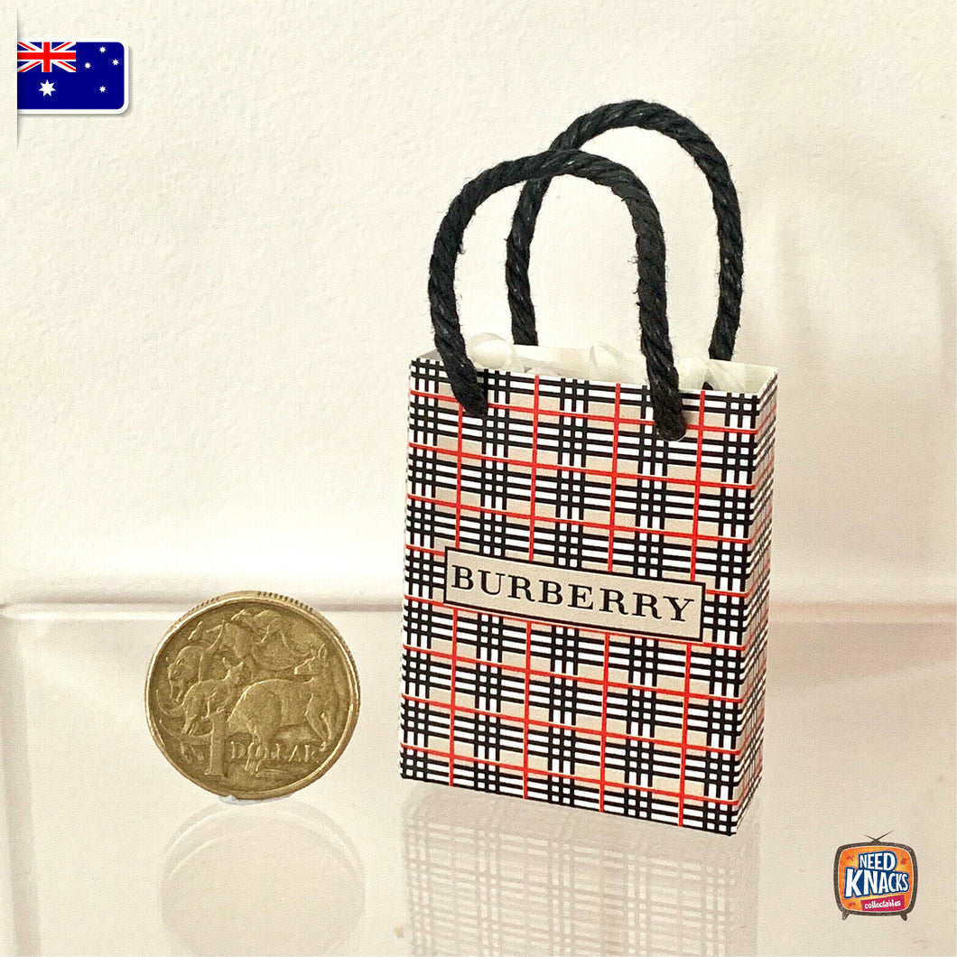 Mini Paper Bag B - 1:12 Miniature