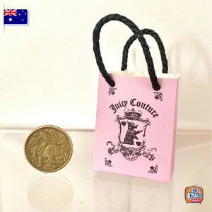 Mini Paper Bag J - 1:12 Miniature