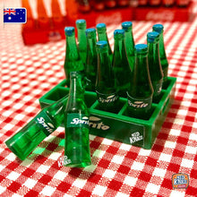 Load image into Gallery viewer, Mini Soda Bottles with Crate - 1:12 Miniature